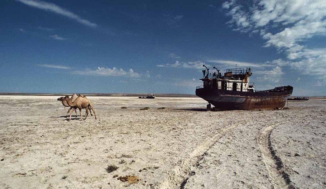Así ha desaparecido el Mar de Aral en los últimos 50 años