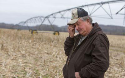 ¿Cómo responde un agricultor a la sequía?